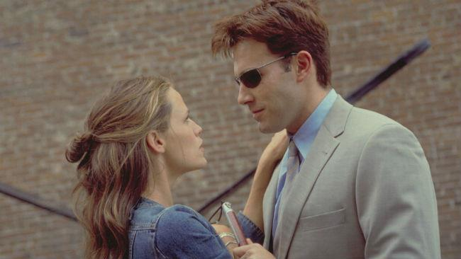 Ben Affleck e Jennifer Garner nel film Daredevil