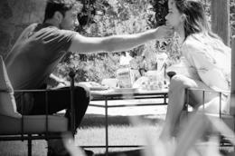 Andrea Iannone e Belen Rodriguez su Instagram