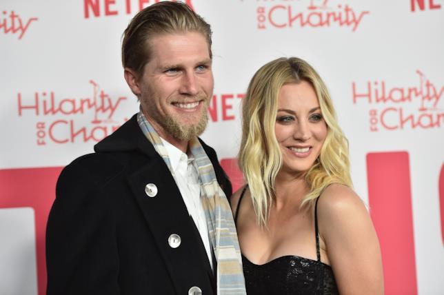 Kaley Cuoco e il futuro marito Karl Cook