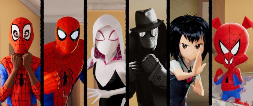 Spider-Man: Un nuovo universo, i protagonisti
