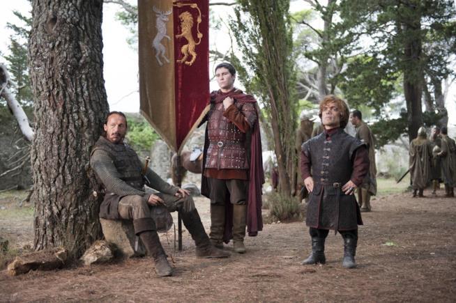 Tyrion, Podrick e Bronn insieme