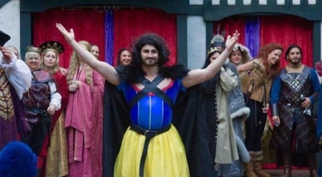 Jon Snow in versione...Biancaneve!