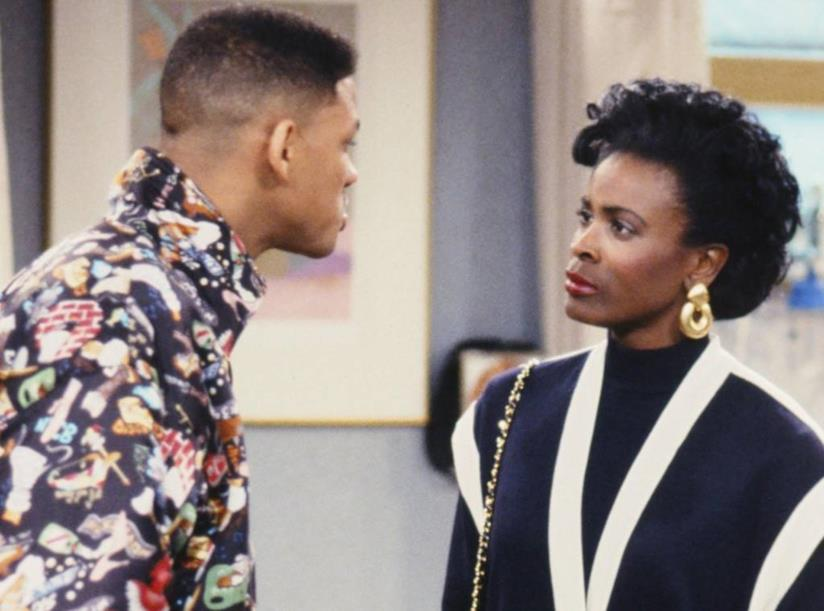 Willy Smith e Vivian Banks di The Fresh Prince of Bel-Air