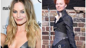 La trasformazione di Margot Robbie in Elisabetta I