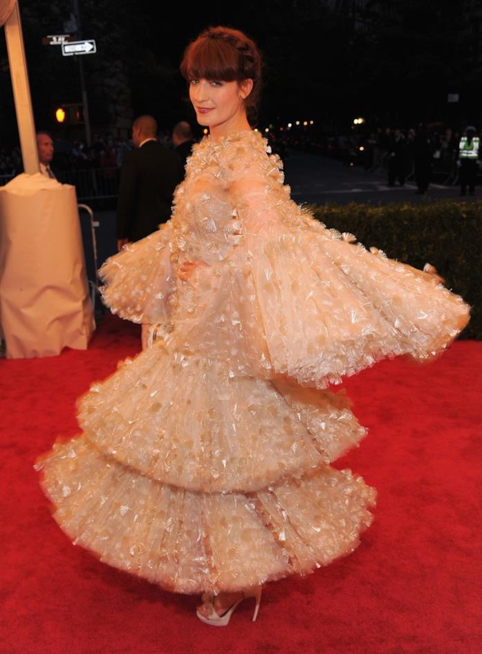Florence Welch al MET Gala