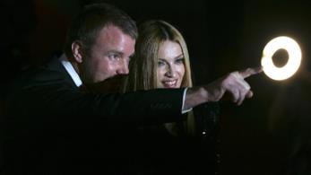 Madonna col regista Guy Ritchie