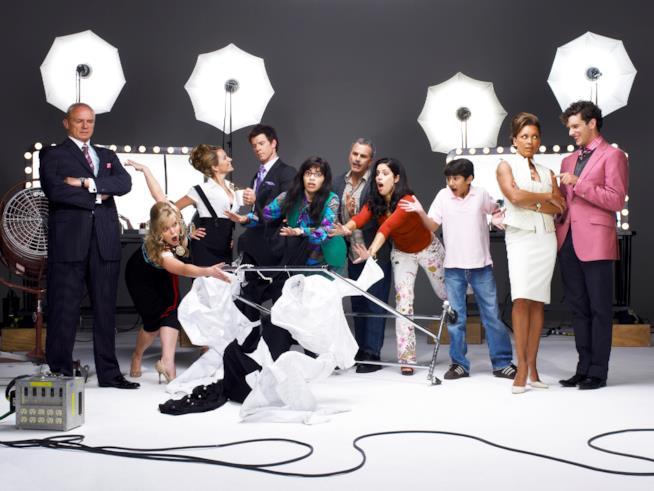 Tutto il cast di Ugly Betty