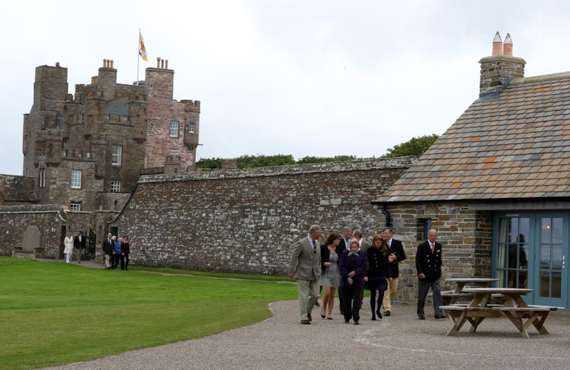 La residenza reale scozzese Castle of Mey