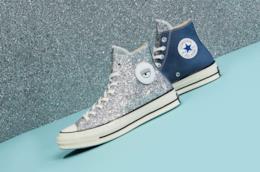 Un paio di scarpe Converse x Chiara Ferragni
