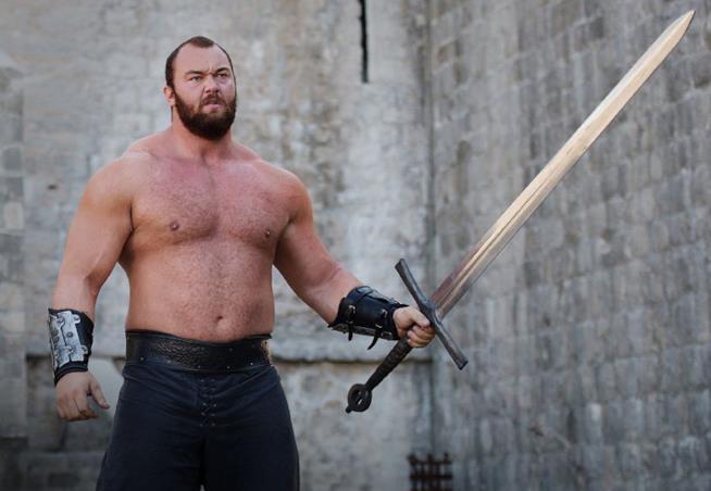 Hafþór Björnsson in Game of Thrones