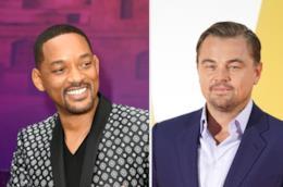 Gli attori Will Smith e Leonardo DiCaprio