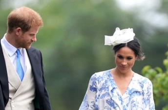 Meghan Markle e Harry a un matrimonio
