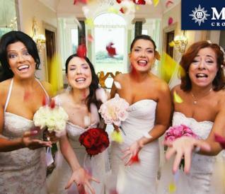 4 spose divertentissime a 4 Matrimoni in Italia