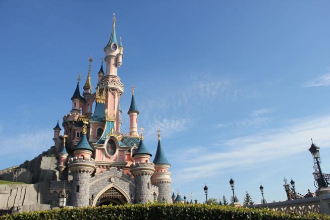Il castello della Bella Addormentata nel Bosco di Disneyland Paris