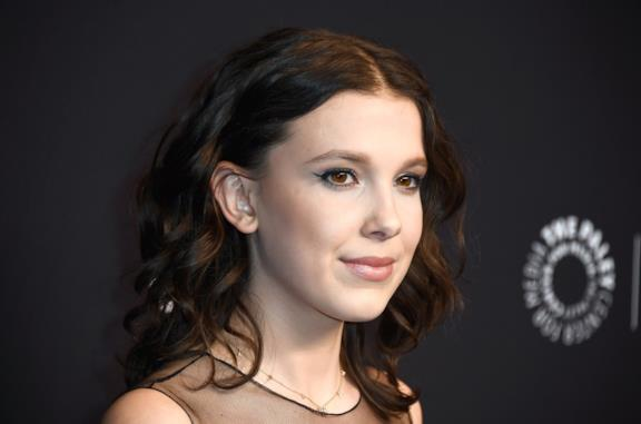 Millie Bobby Brown in primo piano