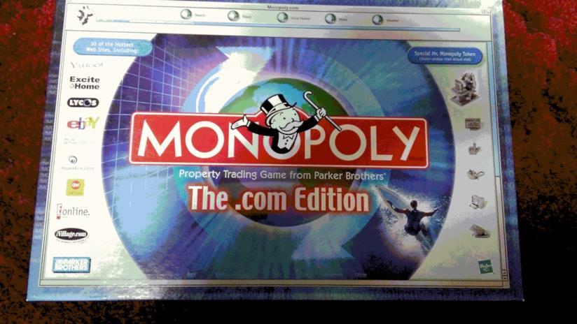 L'edizione .com di Monopoli