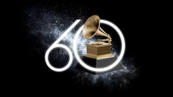 Il logo dei Grammy 2018