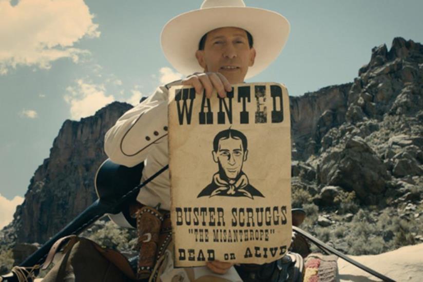Un'immagine dal film The Ballad of Buster Scruggs