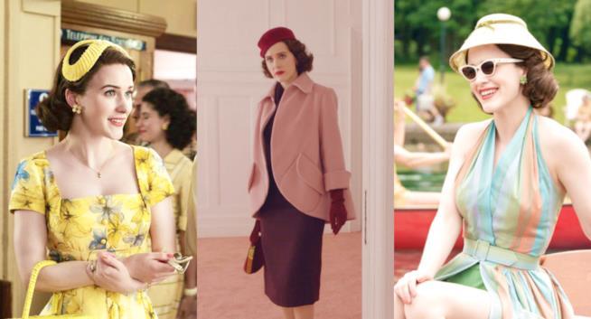 Capi e accessori di tendenza anni '50
