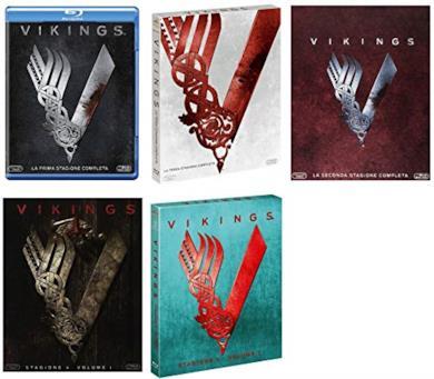 Cofanetti Blu-ray di Vikings - Stagioni 1-4