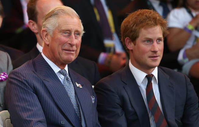 Principe Carlo e Principe Harry