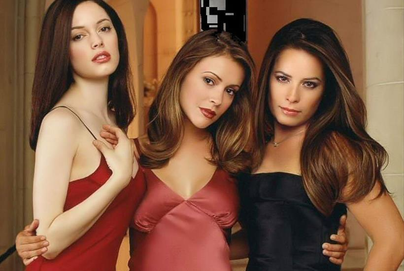 Holly Marie Combs, Shannen Doherty e Alyssa Milano in Streghe