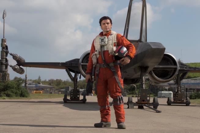 Oscar Isaac in Il risveglio della forza