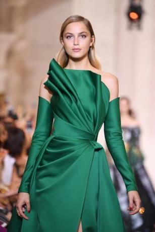 Verde nella collezione di Elie Saab