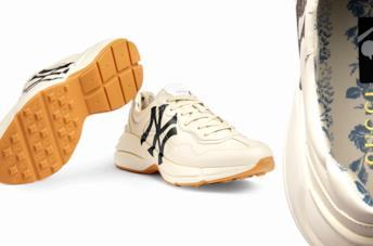 La sneaker di Gucci sugli Yankees