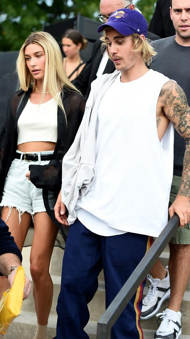 Hailey Bieber e Justin Bieber avvistati