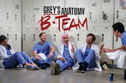 La locandina di Grey's Anatomy B-Team