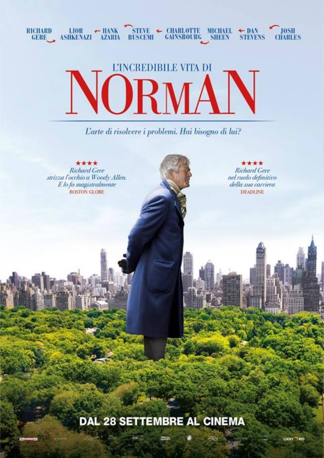 Il manifesto italiano di L'incredibile vita di Norman