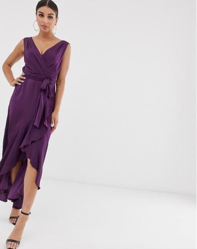 Wrap dress viola