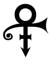 Love Symbol #2 dedicato a Prince: logo