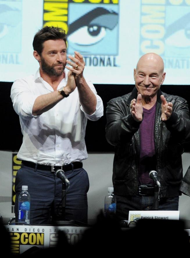 Hugh Jackman e Patrick Stewart