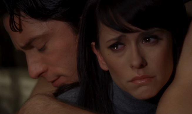 Melinda e Jim in un'immagine da Ghost Whisperer
