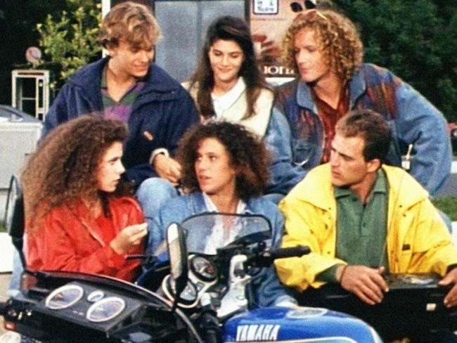 I ragazzi del muretto, protagonisti della serie TV italiana degli anni '90