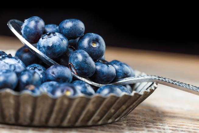 Mirtilli: frutti blu e viola