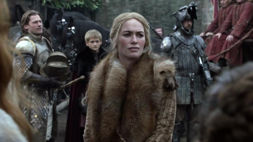 Scena di Il trono di spade con Cersei e Jaime