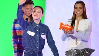 Millie Bobby Brown ai Kids' Choice Awards