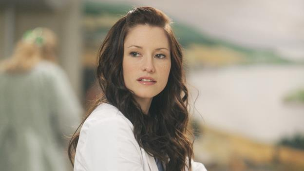 Lexie Grey in una scena di Grey's Anatomy