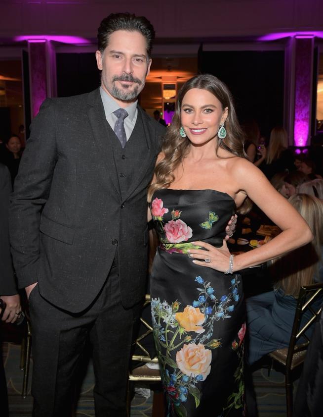 Sofia Vergara con il marito Joe Manganiello