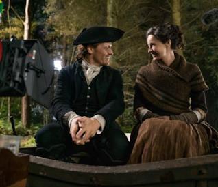 Le immagini in anteprima della season première di Outlander 4