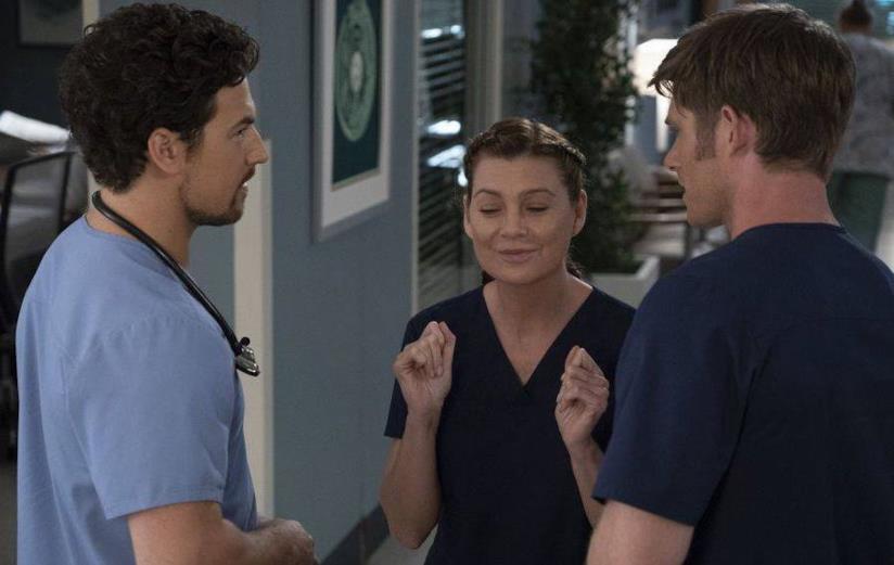 Una scena di Grey's Anatomy 15x9