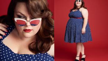 Chrissy Metz posa per Harper's Bazaar