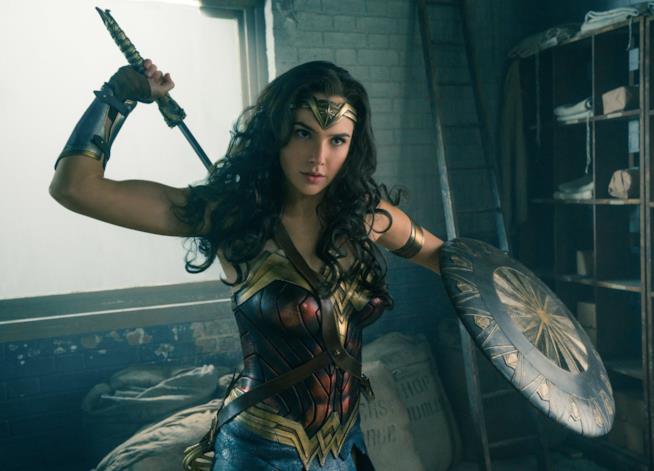 Gal Gadot in una scena di Wonder Woman