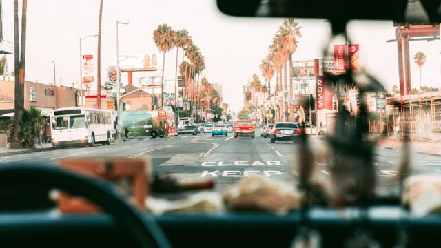 Racconti di viaggio, da Los Angeles alle Hawaii, Giorno 1: Hollywood Boulevard e TCL Chinese Theatre