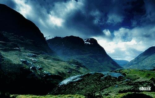 Le terre selvagge della Scozia in Outlander