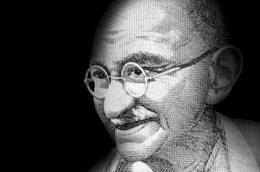 Ritratto di Gandhi