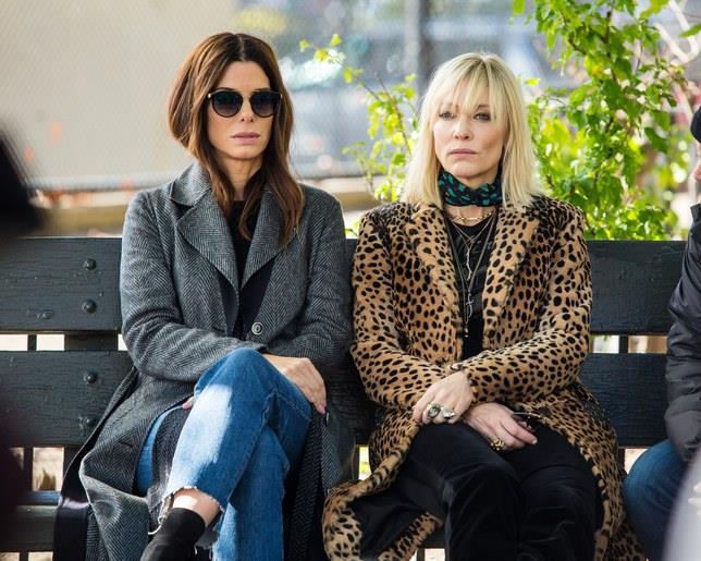 Sandra Bullock e Cate Blanchett in Ocean's 8